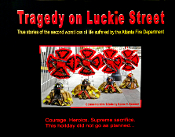 Tragedy on Luckie Street - Hardcover