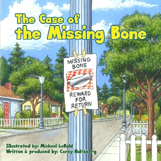 The Case of the Missing Bone - eBook for Nook