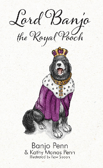 Lord Banjo the Royal Pooch